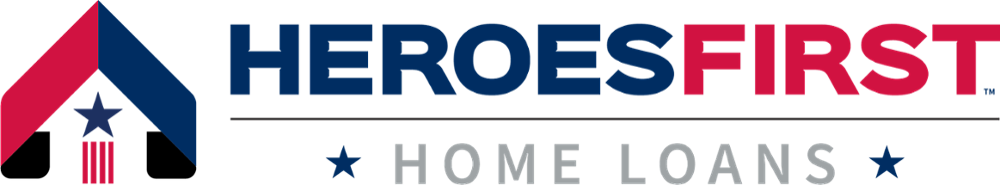 Heroes First Blue Red Logo
